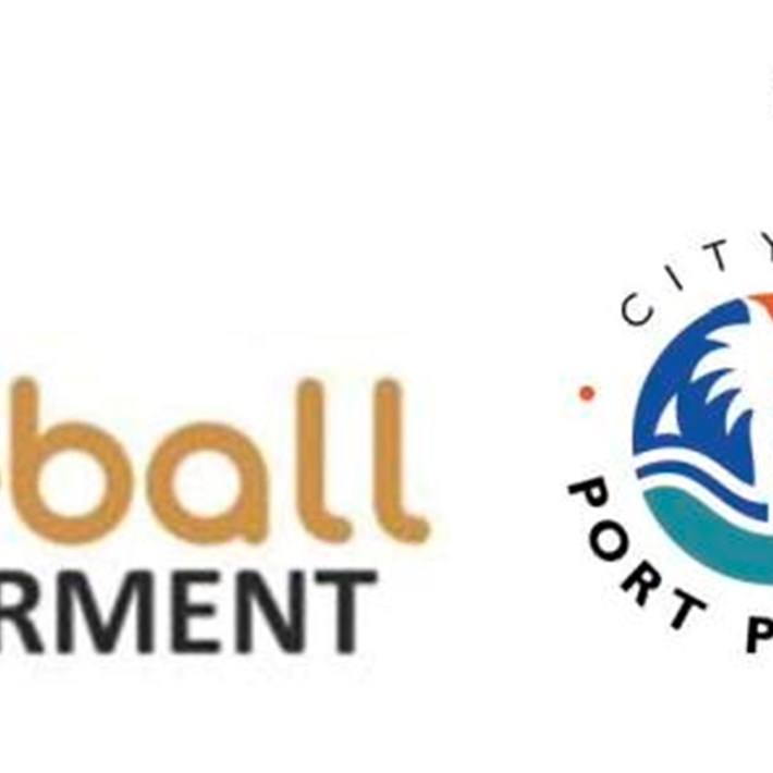 Football empowerment logo supported by the City of Port Phillip and Sharks Port Melbourne SC